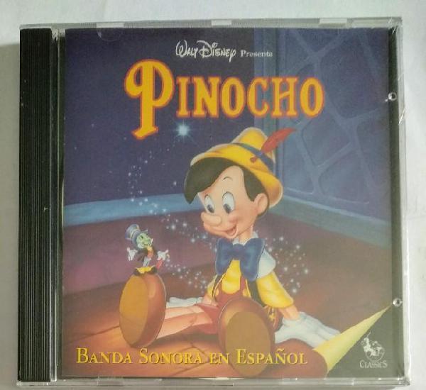 Precintado cd 1995 disney - pinocho / banda sonora en