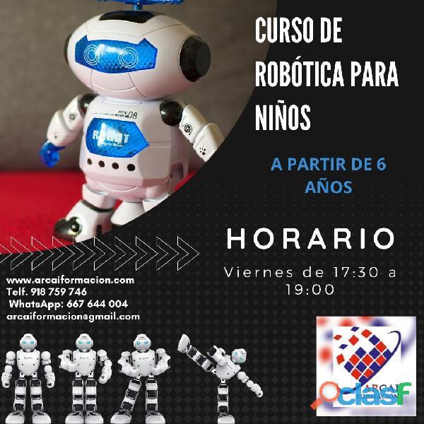 Curso de robótica para niños
