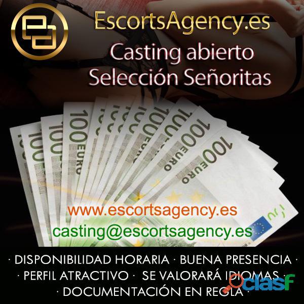 CASTING ABIERTO   SELECCIONAMOS SEÑORITAS • ALTOS INGRESOS