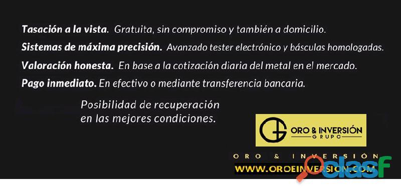 Oro & Inversión Grupo en Lleida  Zona Alta  Compra Oro y Plata 973238292 2