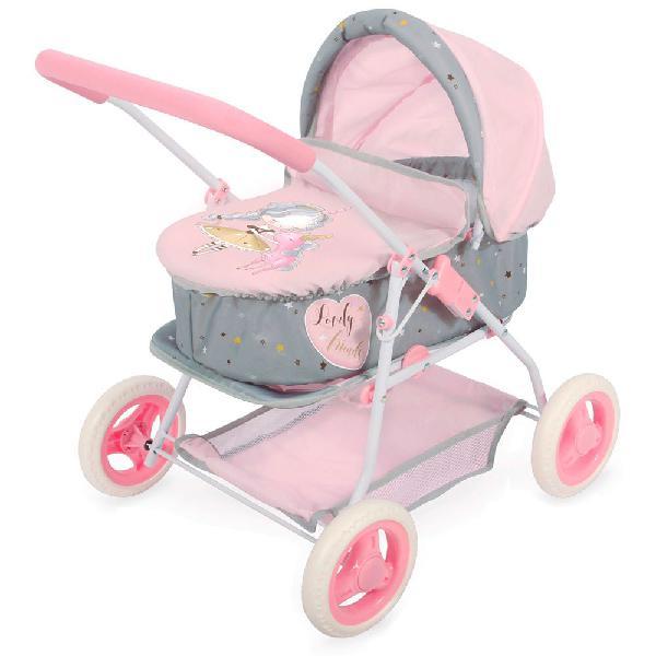 Color baby cochecito muñecas 3 en 1. cuco y sillita de