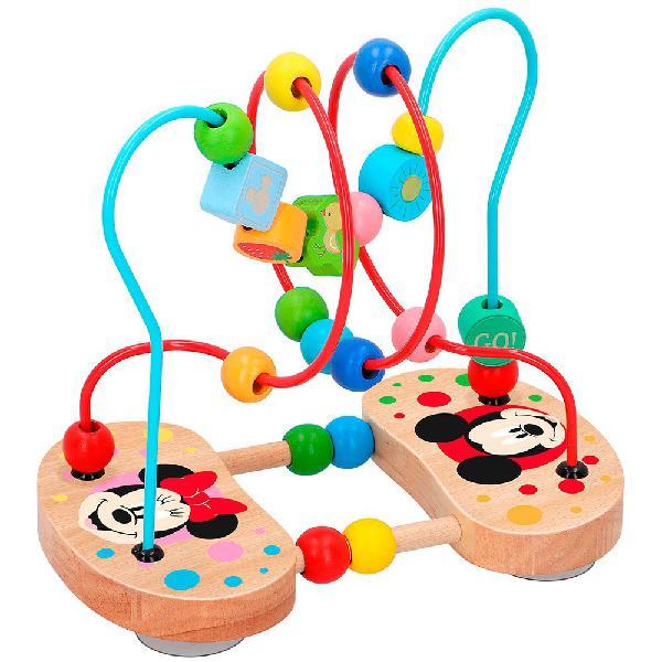Color baby laberinto 3d con cuentas de madera disney
