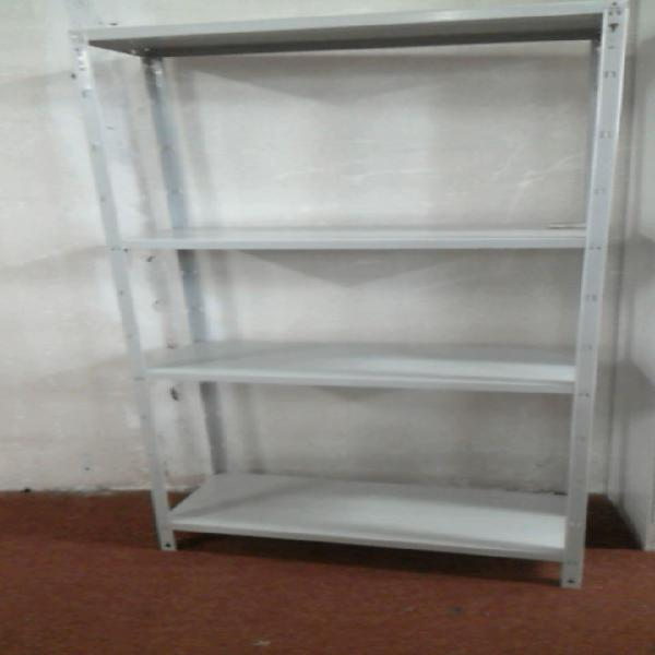 Compre la oportunidad de etagere en metal gris 4 niveaux