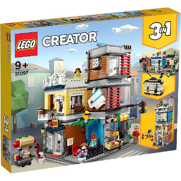 Lego creator 31097 townhouse pet shop and cafe