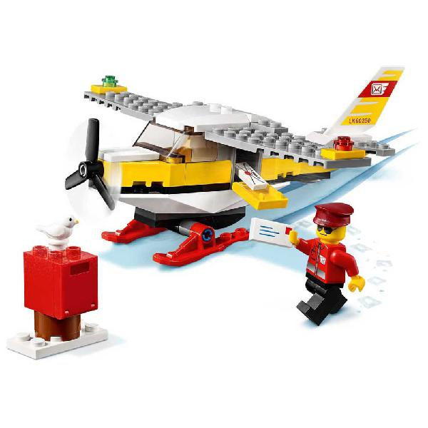 Lego juego de construcción city avión del correo