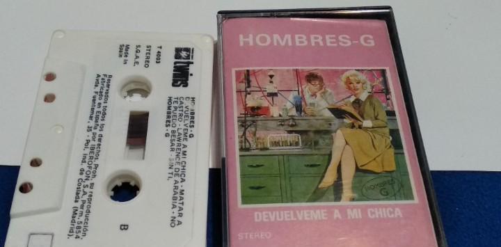 Reserva - casete(hombres g - devuelveme a mi chica)1985