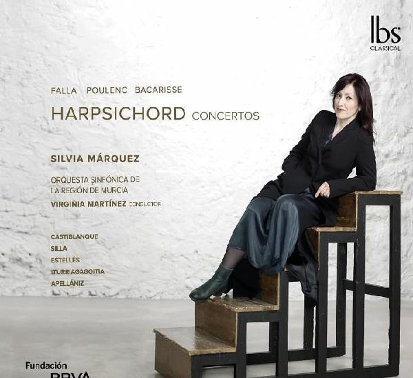 Silvia márquez - harpsichord concertos (falla, poulenc,