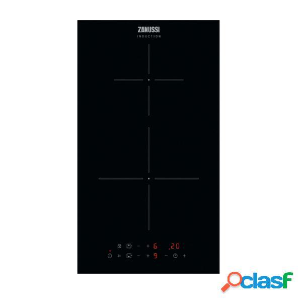Placa modular inducción - zanussi zitn323k 2 zonas de cocción función powerboost