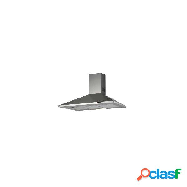 Campana decorativa - edesa ecp7411x eficiencia c acero inoxidable piramidal