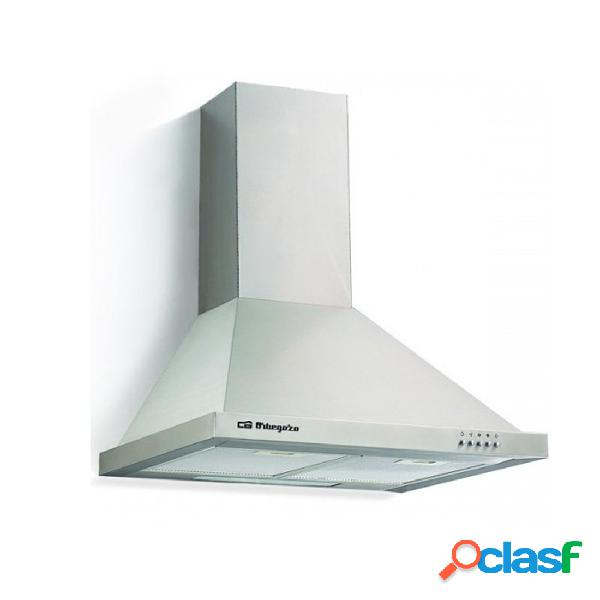 Campana decorativa - orbegozo ds59190in eficiencia d acero inoxidable piramidal
