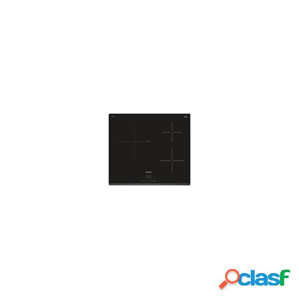 Placa inducción - bosch puc631bb2e 3 zonas 60 cm negro biselado