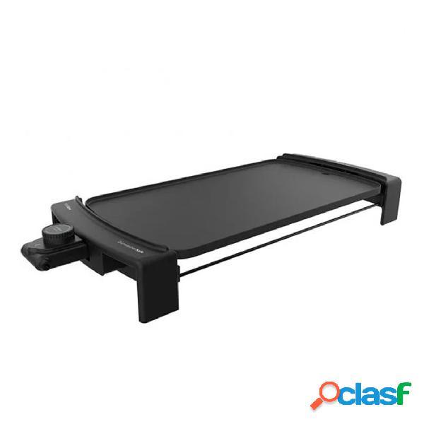 Plancha de asar - cecotec tasty&grill 3000 blackwater 2600w 45 x 25 cm