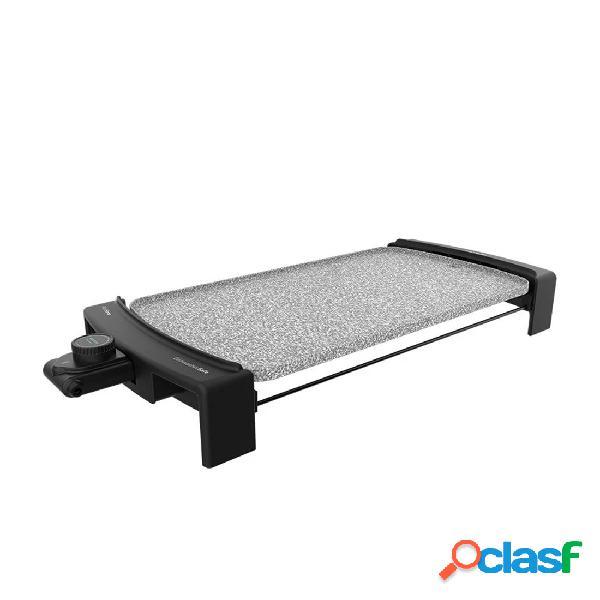 Plancha de asar - cecotec tasty&grill 3000 rockwater 2600w 45 x 25 cm