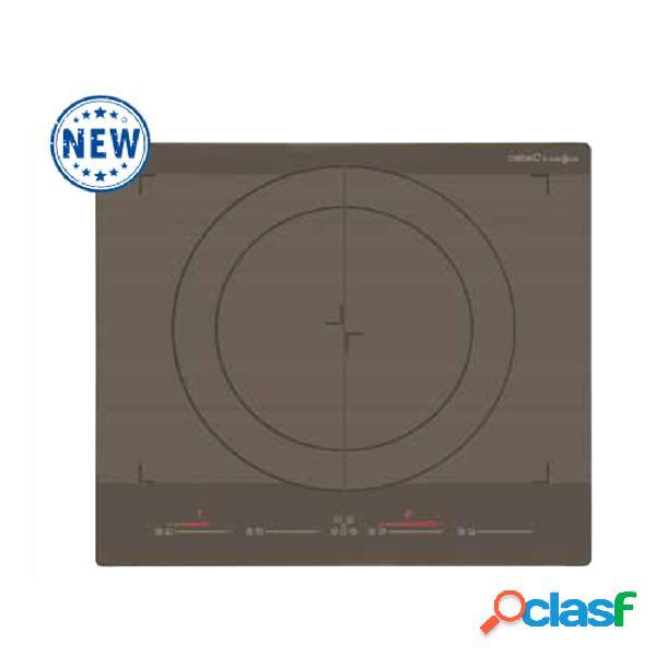 Placa inducción - cata giga 600 sd 4 zonas de cocción 60cm función flex negro