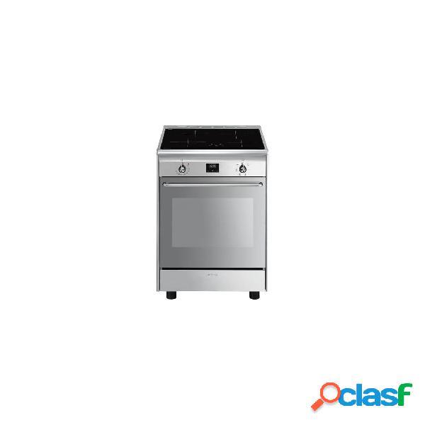 Cocina inducción - smeg cx60isvt9 eficiencia a 90 cm 4 fuegos acero inoxidable