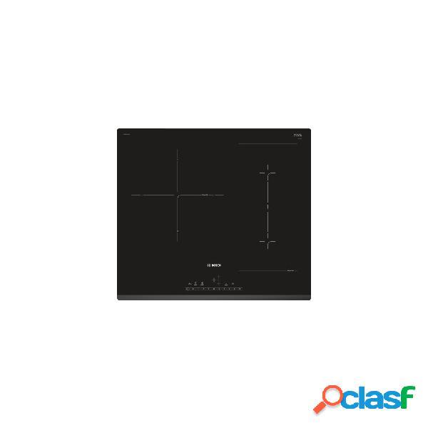 Placa inducción - bosch pvj631fb1e 3 zonas 60 cm negro biselado