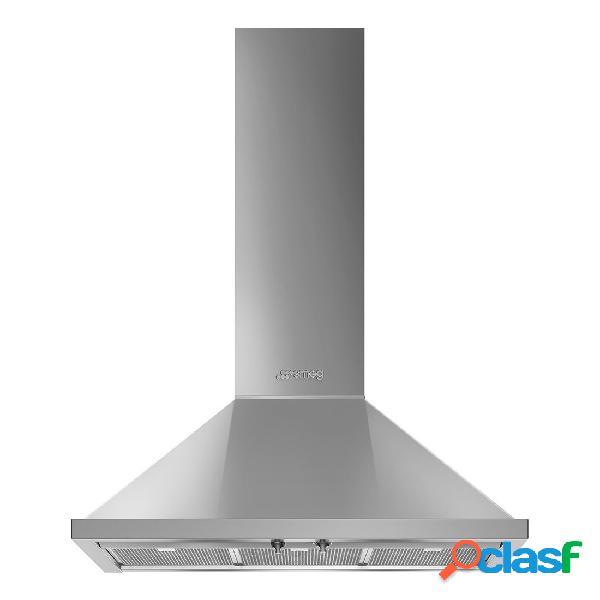 Campana decorativa - smeg kpf9x eficiencia a+ acero inoxidable piramidal