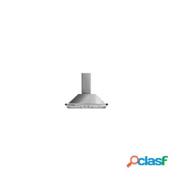 Campana decorativa - smeg ktr90xe eficiencia a acero inoxidable piramidal