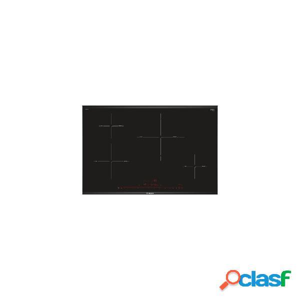Placa inducción - bosch pie875dc1e 4 zonas 80 cm negro acabado premium