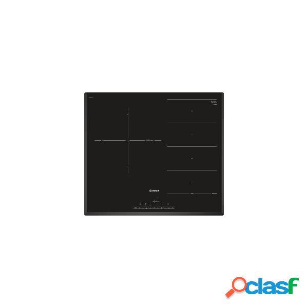 Placa inducción - bosch pxj651fc1e 3 zonas 60 cm negro biselado