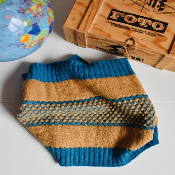 Bufanda cuello de lana de jo and mr joe