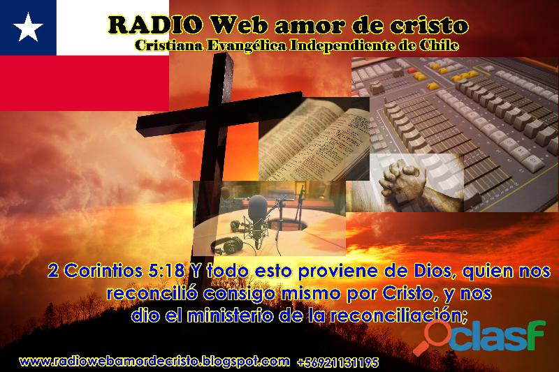 Radio web amor de cristo