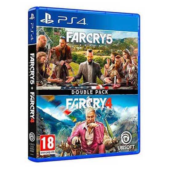 Ubisoft juego ps4 far cry 4+far cry 5