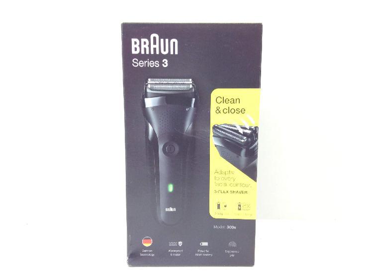 Afeitadora electrica braun series 3 clean y close