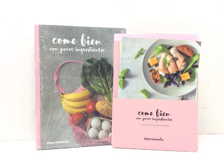 Libro cocina vorwerk come bien con pocos ingredientes