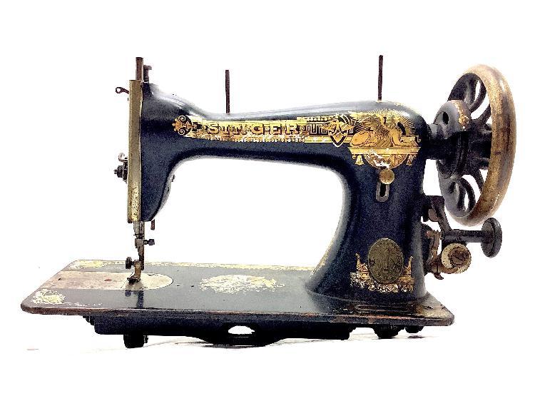 Maquina coser singer motivos egipcios
