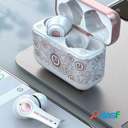 Útiles tws auriculares compatibles con bluetooth 5.0 para deportes mini in-ear inalámbrico llamadas ligeras