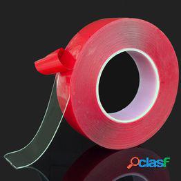 Adhesivo de cinta de doble cara de acrílico transparente para coche de alta resistencia de alta resistencia sin rastros adhesivo adhesivo car styling