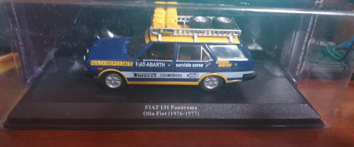 Asistencia de rally fiat 131 panorama olio fiat (1976-1977)