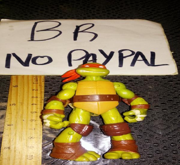 Figura muñeco tortuga ninja articulada víacon se envía lo