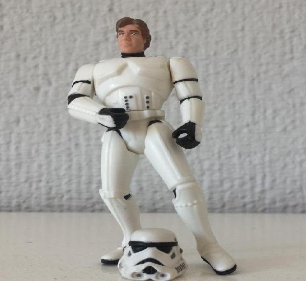 Han solo as stormtrooper - kellogg's exclusive - star wars -