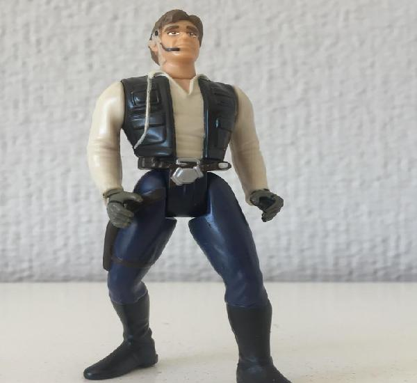 Han solo from gunner station of millennium falcon - star