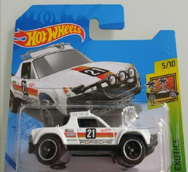 Hot wheels porsche 914 safari. hot wheels 1/64. hw exotics