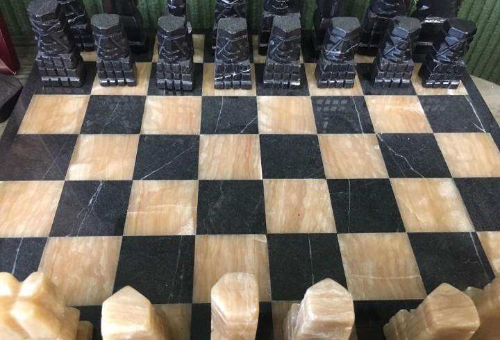 Juego ajedrez de onix