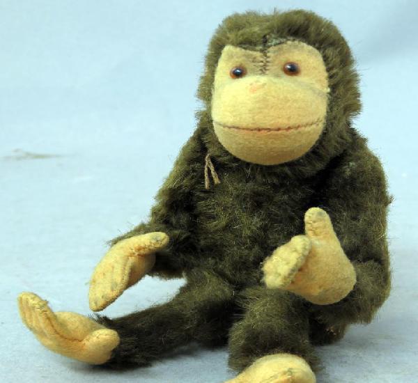 Mono chimpancé steiff peluche articulado ojos cristal años