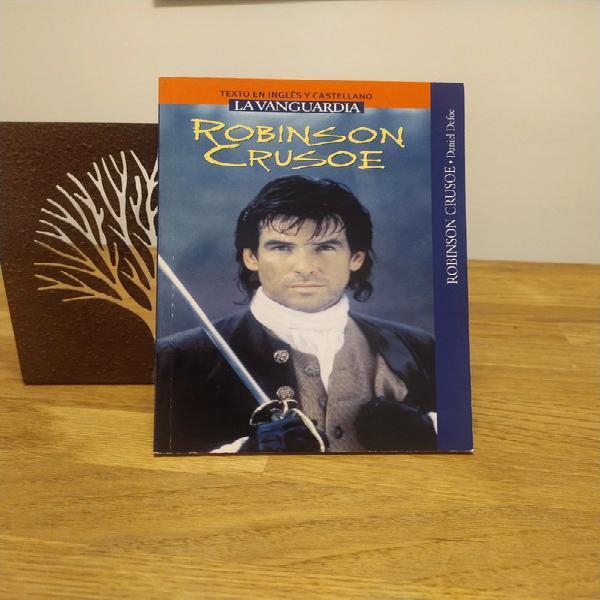 Robinson crusoe de daniel defoe en inglés y castellano