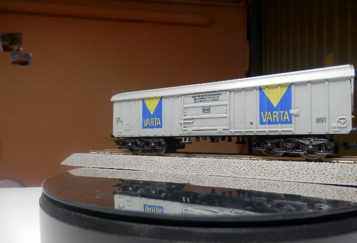 Vagón cerrado escala ho de lima