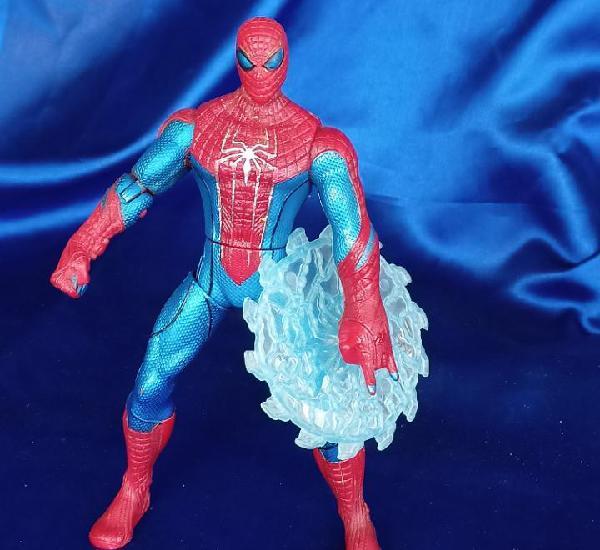 Web battlers spiderman hombre araña con figura de disco