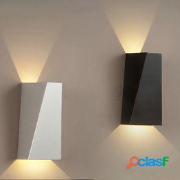 Luz de pared led impermeable ip65 interior al aire libre 12w arriba y abajo luces de jardín luces de pared modernas 4585-265v
