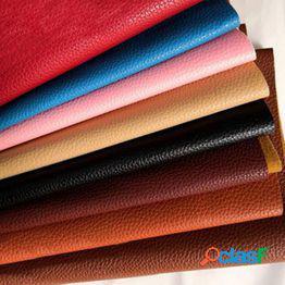22 colores muebles de tela de reparación suave interior del coche tela de cuero de la pu del hogar diy material de decoración tela de costura