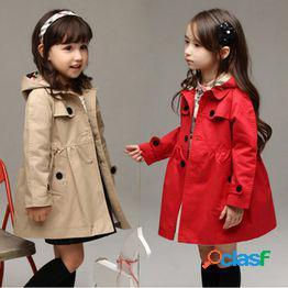 Classic cardigan para niños rompevientos niñas primavera y otoño boutique para niños chaqueta de color sólido ropa para niños uno