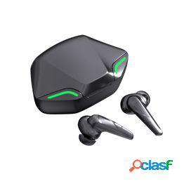 Útiles auriculares inalámbricos tws manos libres para deportes hifi estéreo mini hd-llamadas compatibles