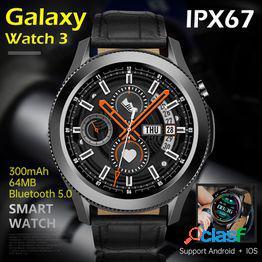 Venta caliente teléfono inteligente w3 smart watch hombres 2021 android samsung galaxy smartwatch mujeres hd pantalla completa presión arterial ecg frecuencia cardíaca fitness
