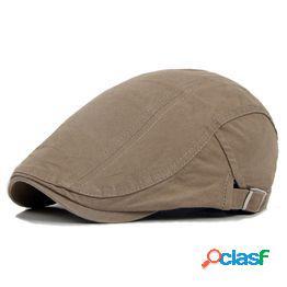 Sombrero de hombre gorra de boinas golf driving sun gorra plana boinas de algodón de moda gorras para hombres sombrero de pico casual visores sombreros de casquette