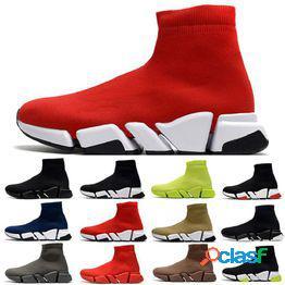 Envío de la gota velocidad calcetín 2.0 para hombre zapatos casuales entrenador jogging beige negro rojo blanco amarillo floo gris hombres mujeres zapatillas deportivas al aire libre