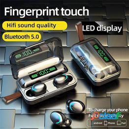 Tws wireless mini headset bluetooth 5.0 sport earphone caja de carga portátil